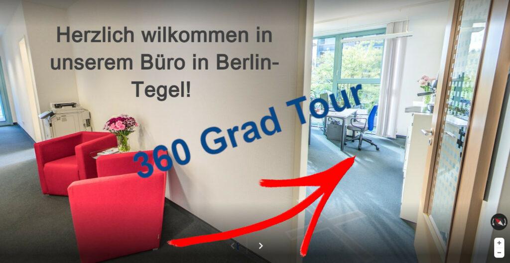 360 Grad Büro Tour